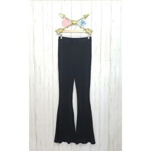 Free People Beach Flared Pull on Pants Size M